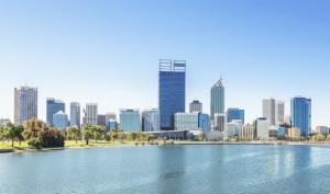 Perth view at the noon